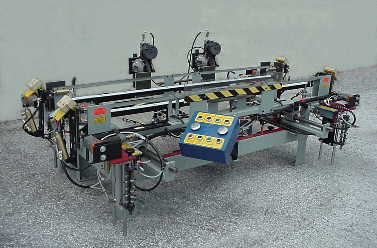 Model 1296 Door Assembly Machine & Door Assembly Machine : :: Builders Automation Machinery Co. ::